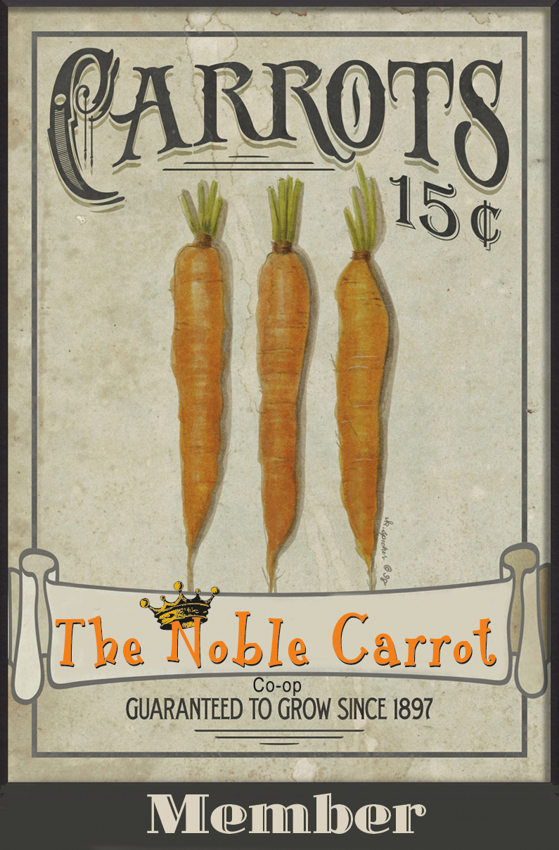 Noble Carrot Member Cards